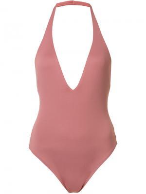Hudson bodysuit Alix. Цвет: розовый и фиолетовый
