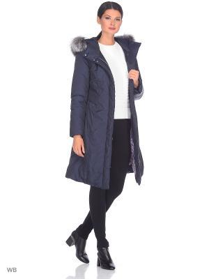 Пальто CAMEO AVI. Цвет: синий
