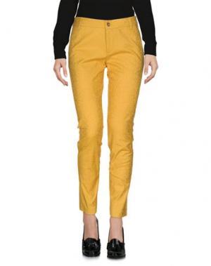 Повседневные брюки ATTIC AND BARN. Цвет: охра