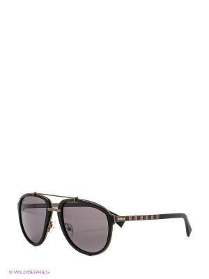 Солнцезащитные очки BLD 1621 102 Baldinini. Цвет: черный, бронзовый