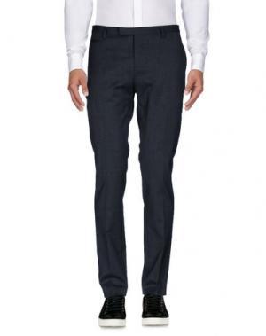 Повседневные брюки BRIAN DALES. Цвет: свинцово-серый
