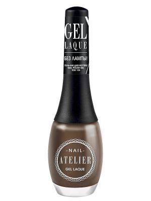 Гель-лак для ногтейNail Atelier тон 135, 12мл Vivienne Sabo. Цвет: темно-серый