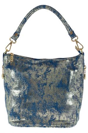 Bag GIULIA. Цвет: gold and blue