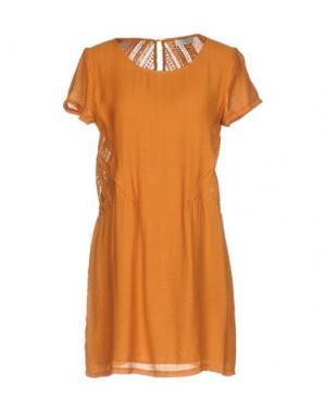Короткое платье AXARA PARIS. Цвет: оранжевый