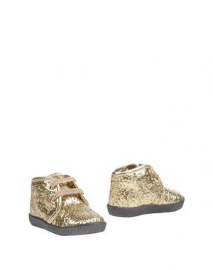 Полусапоги и высокие ботинки FALCOTTO. Цвет: платиновый