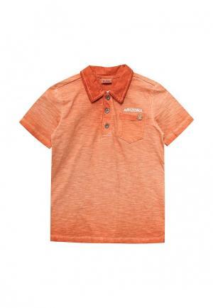 Поло Blukids. Цвет: оранжевый