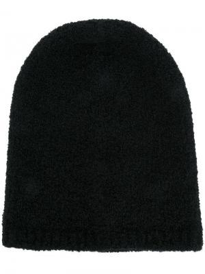 Трикотажная шапка Laneus. Цвет: чёрный
