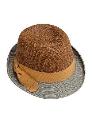 Шляпа Kameo-bis. Цвет: коричневый, серый