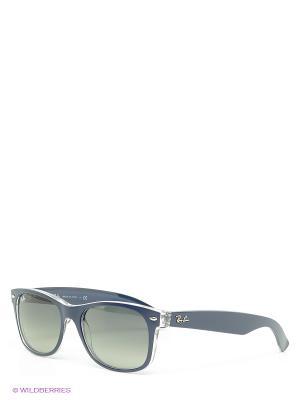 Очки солнцезащитные NEW WAYFARER Ray Ban. Цвет: синий
