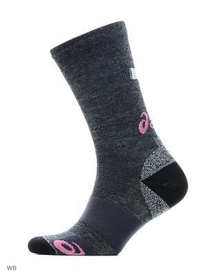 Носки WINTER RUNNING SOCK ASICS. Цвет: серый, розовый