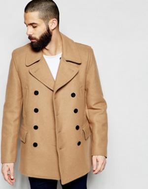 Gloverall Пальто‑бушлат Churchill. Цвет: рыжий