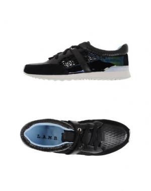 Низкие кеды и кроссовки L.A.M.B.. Цвет: черный
