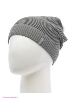 Жаклин Беркле шапка женская с помпоном Berkle. Цвет: темно-серый