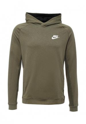 Худи Nike. Цвет: хаки