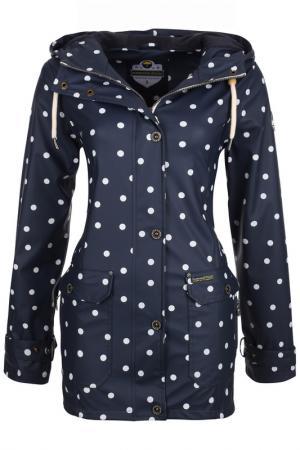 Куртка SCHMUDDELWEDDA. Цвет: синий