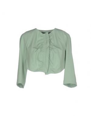 Пиджак ANNARITA N.. Цвет: зеленый
