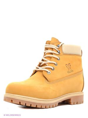 Ботинки VelVet. Цвет: желтый