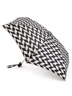 Зонт Механика Fulton. Цвет: черный