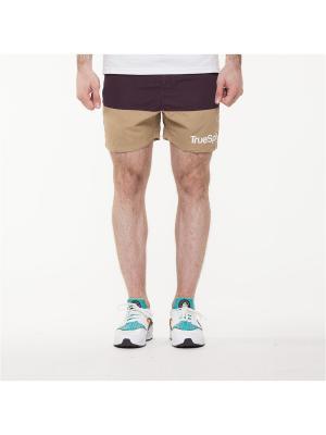 Шорты TRUESPIN Core Shorts True Spin. Цвет: коричневый