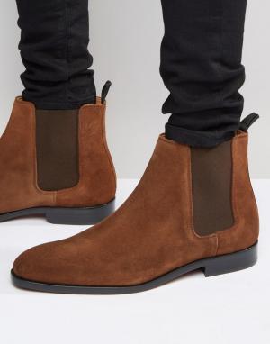 Paul Smith Замшевые ботинки челси Gerald. Цвет: коричневый