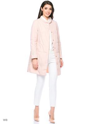 Пальто Romantic Collection.. Цвет: бледно-розовый