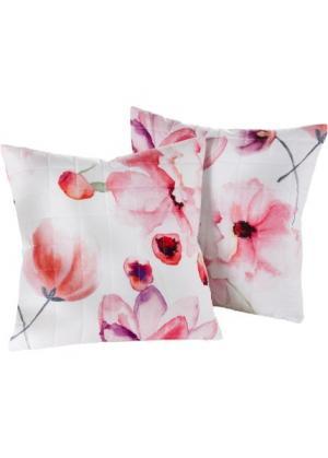 Накидка на диван Виола (розовый) bonprix. Цвет: розовый
