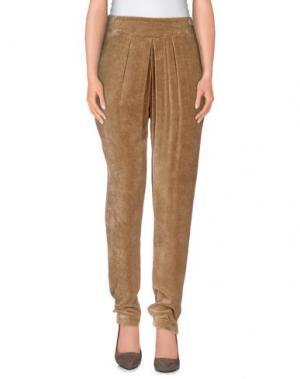 Повседневные брюки LIVE CONCEPT. Цвет: хаки