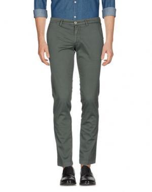 Повседневные брюки MANUEL RITZ. Цвет: зеленый-милитари