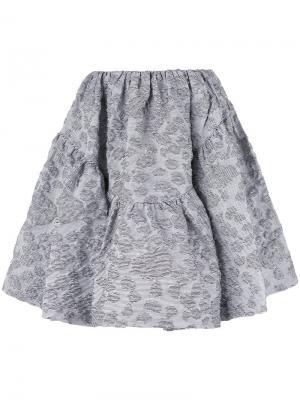 Пышная мини-юбка Jourden. Цвет: чёрный