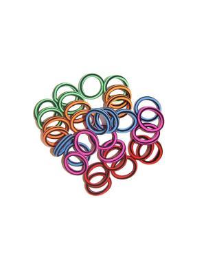 Резинки, 30 шт Lola. Цвет: красный,оранжевый,синий,зеленый,малиновый