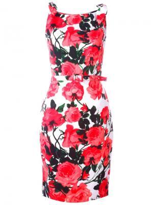 Платье Monroe Samantha Sung. Цвет: розовый и фиолетовый