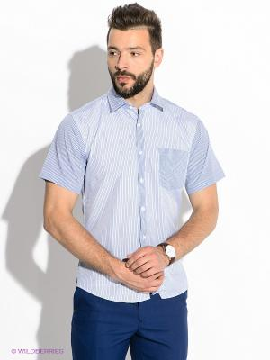 Рубашкаа Hans Grubber. Цвет: голубой