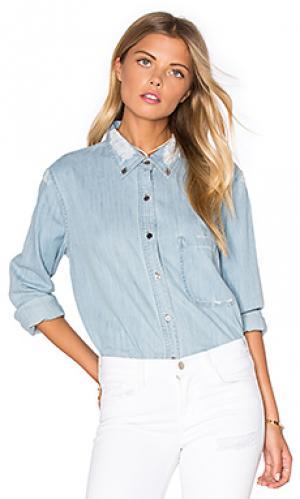 Рубашка на пуговицах brett Rails. Цвет: none