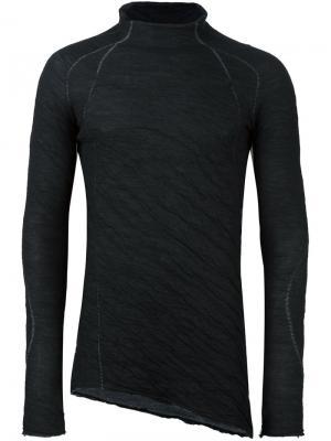 Пуловер с высокой горловиной и длинными рукавами Masnada. Цвет: чёрный