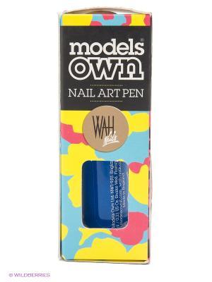 Карандаш для арт маникюра 6 мл, Pen&Striping Brush, Blue Models Own. Цвет: голубой