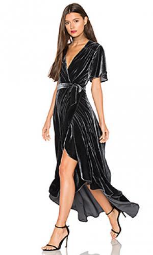 Платье krause Privacy Please. Цвет: аспидно-серый