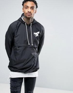 Abuze London Куртка-пуловер на молнии. Цвет: черный