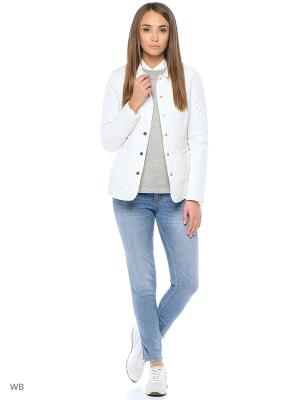 Куртка Modis. Цвет: белый