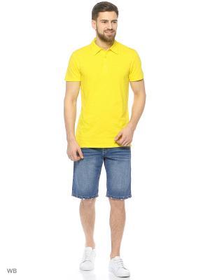 Джинсовые шорты Modis. Цвет: синий