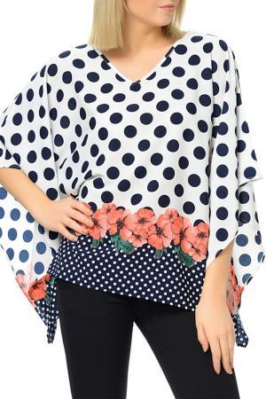 Блуза Dewberry. Цвет: синий