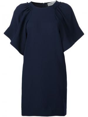 Платье свободного кроя Rachel Comey. Цвет: синий