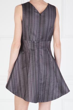 Платье с принтом Peter Pilotto. Цвет: серый