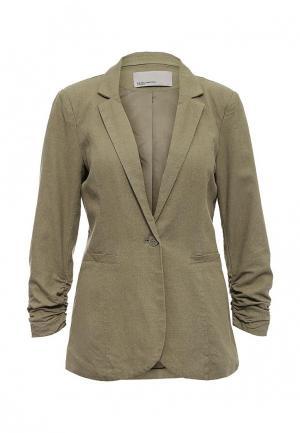 Пиджак Vero Moda. Цвет: хаки