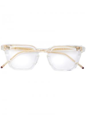 Солнцезащитные очки Emerson Jacques Marie Mage. Цвет: белый