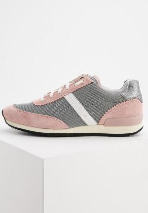 Кроссовки Hugo Boss. Цвет: розовый