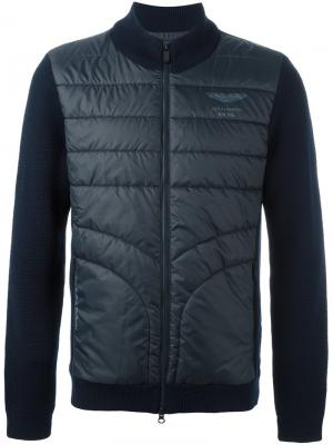 Спортивная куртка Hackett. Цвет: синий