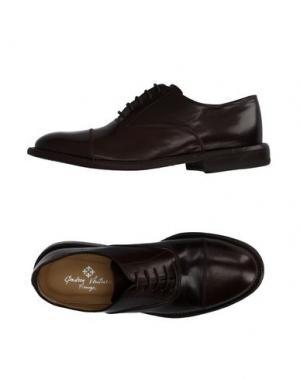 Обувь на шнурках ANDREA VENTURA FIRENZE. Цвет: темно-коричневый