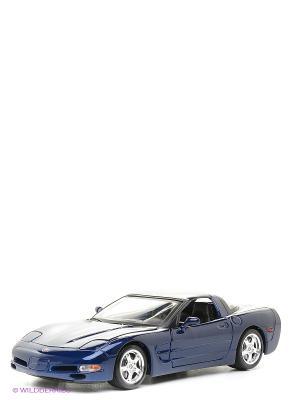1:18 BB Машина Chevrolet Corvette Bburago. Цвет: синий