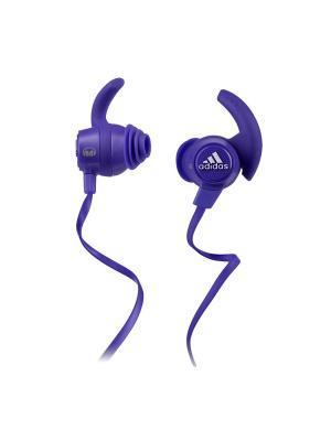 Наушники Monster Adidas Sport Response In-Ear, Purple. Цвет: темно-фиолетовый