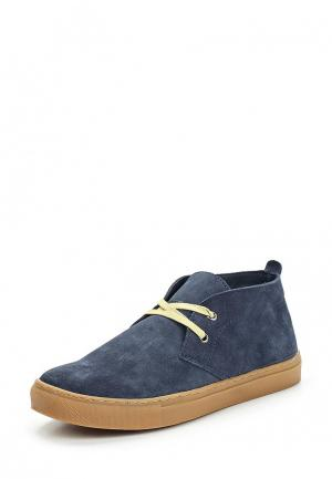 Ботинки Mango Man. Цвет: синий